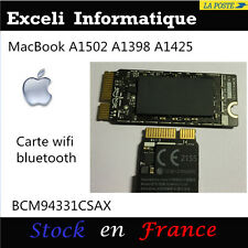 Apple MacBook Pro A1502 A1398 A1425 BCM94331CSAX Wifi Airport Bluetooth Carte