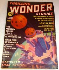 Thrilling Wonder Stories – US pulp – June 1937 - Vol.9 No.3 - Fearn Zagat Binder