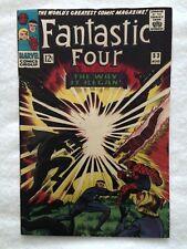 Fantastic Four #53 2nd Appearance & Origin Black Panther, 1st Klaw