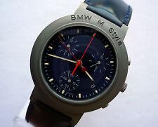 BMW M Style Power Motorsport Racing Titanium Accessory Sport Watch Chronograph