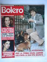 Bolero1672 Cabrini Antonelli Testi Nino Castelnuovo Tyron Power Laureen Bacall