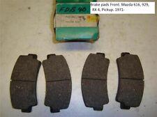Brake pads Front. Mazda 616, 929, RX 4, Pickup. 1971-