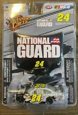 JEFF GORDON 2009 NATIONAL GUARD #24 1/64 WINNERS CIRCLE DIECAST CAR WITH HOOD PC