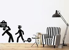 Wall Vinyl Sticker Decal Students  Study Force Knowledge Student Loan (n438)