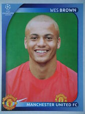 Panini 15 Wes Brown Manchester United UEFA CL 2008/09