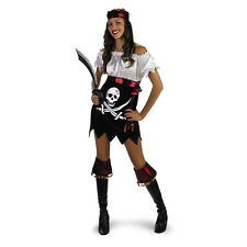 Hottie Totties Glam Pirate Teen / Adult Costume Size: Teen (7-9) Disguise 2451T