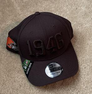 Cleveland Browns New Era Brown On Brown Alternate Logo 39THIRTY Flex Hat NWT M/L