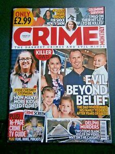 Crime Monthly Magazine Issue 13 April (new) 2020