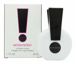 EXCLAMATION Coty Women EDC 1.7 oz Cologne New