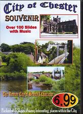 MICK EDWARDS - SOUVENIR OF CHESTER - OVER 100 SLIDES SET TO ACCORDION MUSIC  DVD