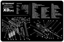 Springfield Armory XD(m) Gun Cleaning Mat by TEKMAT Pistol Rubber Neoprene
