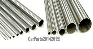 Aluminium round tube. 38.1mm. Hollow. Length; 375mm. 10 Guage. 2.6mm wall