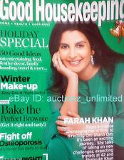 GOOD HOUSEKEEPING DECEMBER 2007 Farah Khan - India Edition