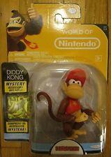 "World of Nintendo DIDDY KONG 4"" Figure Donkey Kong SERIES 1-2 2015 NEW"