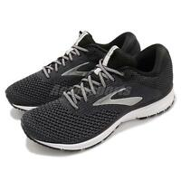 Brooks Revel 2 Black Grey White Men Running Training Shoes Sneakers 110292 1D
