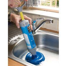 Stura Lavandino a Pompa Con Doppia Ventosa Per Tubi Lavello Lavandini WC Bagno