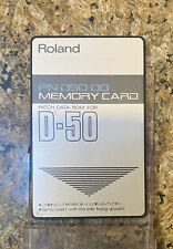 Roland D 50 PN D50 00 Synthesizer Memory Card For D50