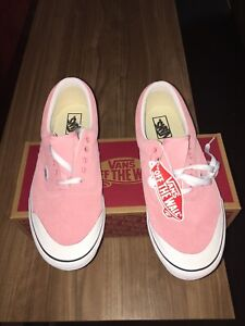 VANS ERA TC SUEDE PINK MEN'S SIZE 12 NEW WITH TAG & BOX