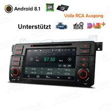 ANDROID 8.1 QUAD-CORE AUTORADIO FÜR BMW E46 GPS NAVI DVD CD USB SD BT WiFi DAB+