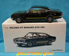 1:18 Biante - 1969 Holden HT Monaro GTS350 Coupe - Warrigal Black  - BRAND NEW
