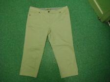 """DEBENHAMS Jeans court taille 18 jambe 22 """" décoloré Blanc Femmes Jeans"""