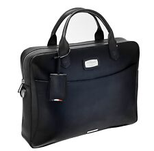 ST Dupont Atelier Collection Black Leather Document Holder Briefcase ST191241