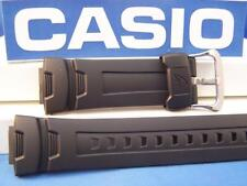 Casio Watch Band G-7500, G-7510 G-Shock Black Resin Strap