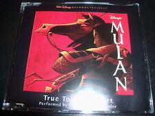 98 Degrees & Stevie Wonder True To Your Heart Aust CD Single (Disney Mulan)