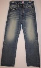 PRPS Distressed Blue Jeans organic cotton new Japan Men's Waist 28 X Inseam 30