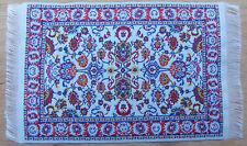 1:12 Scale 25cm x 14.5cm Woven Turkish Carpet Tumdee Dolls House Miniature P16m