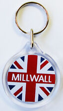 Millwall Union Jack Keyring I1 Millwall FC Key Ring