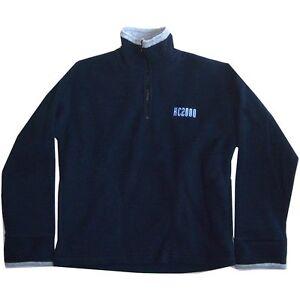 King Crimson Kc2000 Embroidered Logo Blue Fleece Jogger Sweatshirt Small New NOS