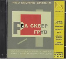 RED SQUARE GROOVE - v.a. russian rare gems CD