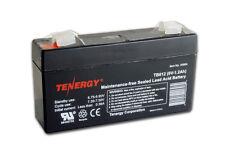 Tenergy 6V 1.2AH (TB612) Maintenance-free Sealed Lead Acid Battery SLA Battery