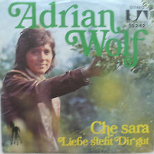 "7"" 1971 COVERVERSION ! ADRIAN WOLF : Che Sara /MINT-?"