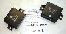 NEU Steuergerät Relais Cartier 02327 Renault 11 16 R25 R5 R4 7700750210 02 327