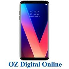 "New LG V30+ Plus Dual Sim H930 4G 16MP 128GB 6"" Black Unlocked Phone 1 Year Wty"
