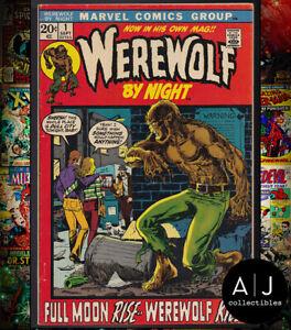 Werewolf By Night #1 FN/VF 7.0 (Marvel)