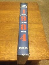 GEORGE ORWELL 1984 Nineteen Eighty Four FOLIO SOCIETY SLIPCASED New Collectable