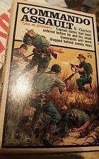 Commando assault by R CHARLETT 1965 WORLD WAR TWO HORWITZ Pulp