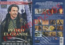 DVD PETER THE GREAT (1986) Maximilian Schell Omar Sharif Trevor Howard Region 2