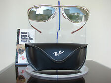 NEU:  Ray Ban Bausch & Lomb Inertia Silver Mirror W2394 Vintage