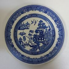 """The Spode Blue Room Collection Georgian Series Willow 8"""" Salad Plate England"""