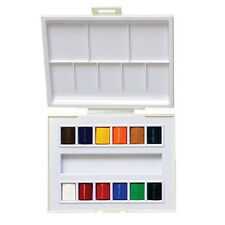 "Sennelier - ""La Petite Aquarelle"" - artists watercolor travel box, 12 half pans"