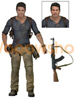 """NECA Uncharted 4 Nathan Drake Ultimate 7"""" Action Figure 1:12 Collection Doll"""