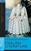Norton Anthology Of English Literature Volume 1  - by Greenblatt
