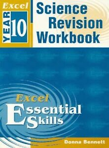 Excel Year 10 Science Revision Workbook by Donna Bennett (Paperback, 2002)