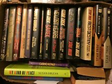 Lot of 15 + Hardcover Star Trek Novels with Dust Jackets Various Authors
