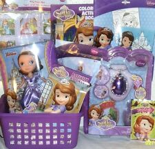 NEW Disney SOFIA THE FIRST CHRISTMAS TOY GIFT BASKET BIRTHDAY DOLL PLAYSET
