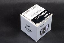 !! BOX ONLY !! FOR CANON EF 50MM F/1.8 II LENS